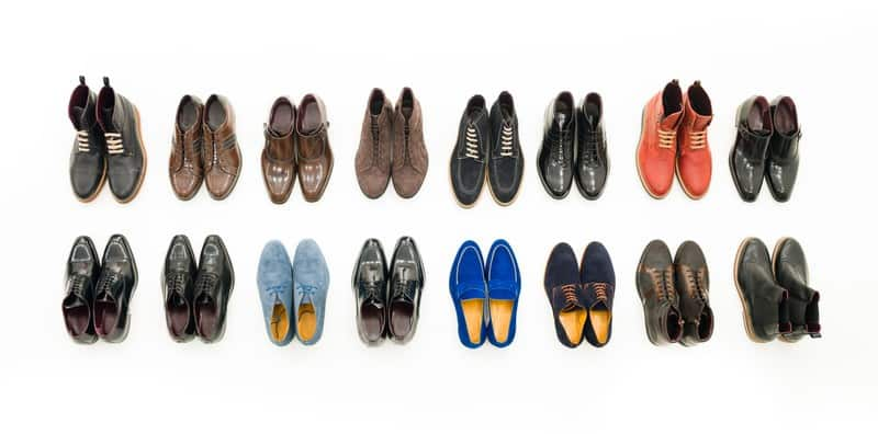 Collection of casual me shoes