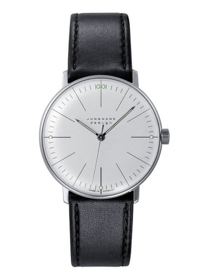 Max Bill Watch from Junghans