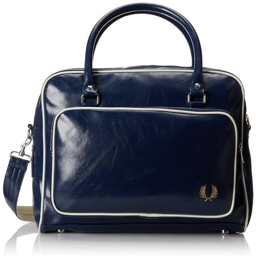 fred perry messenger bag for office and gym
