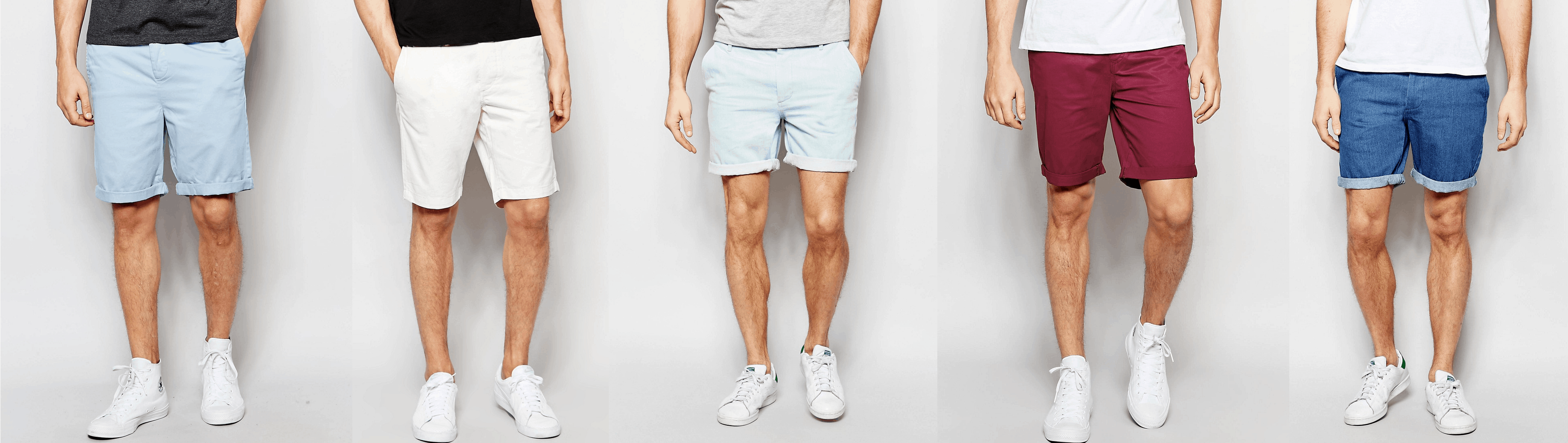 right length for men's shorts