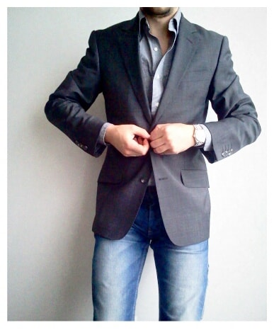 jeans with sport coat