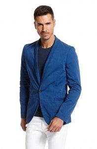 Slim Fit Lightweight Cotton 'Alwano-D' Sport Coat by Hugo Boss